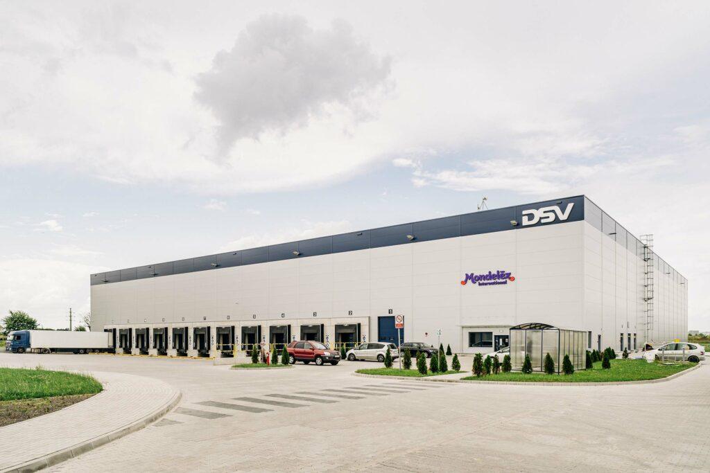 Hala logistyczna PANATTONI dla DSV Solutions