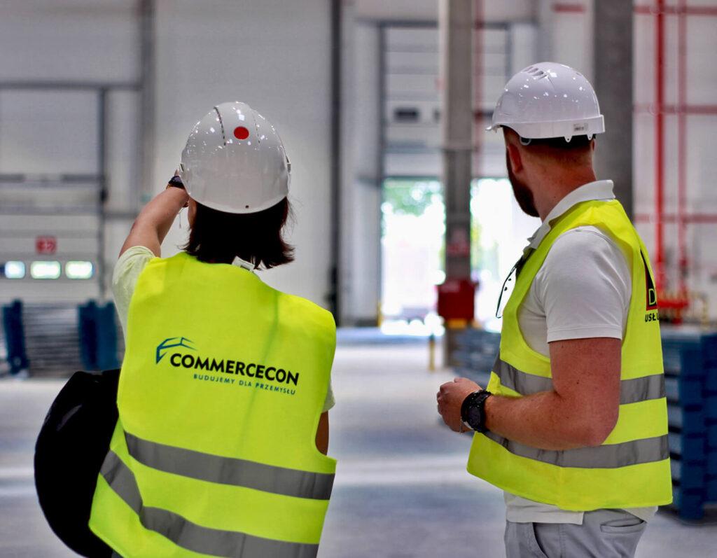 Budownictwo przemysłowe - ludzie